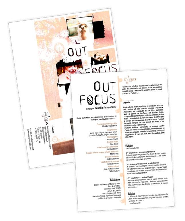 plaquette / Outfocus - CIE Mobilis immobilis